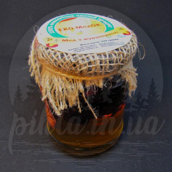 мед с клюквой
