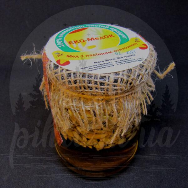 мед с семечкой подсолнуха
