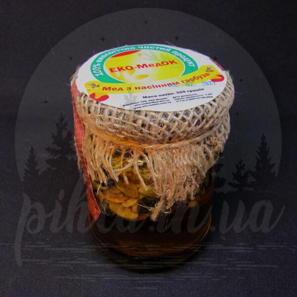 мед с семечкой тыквы
