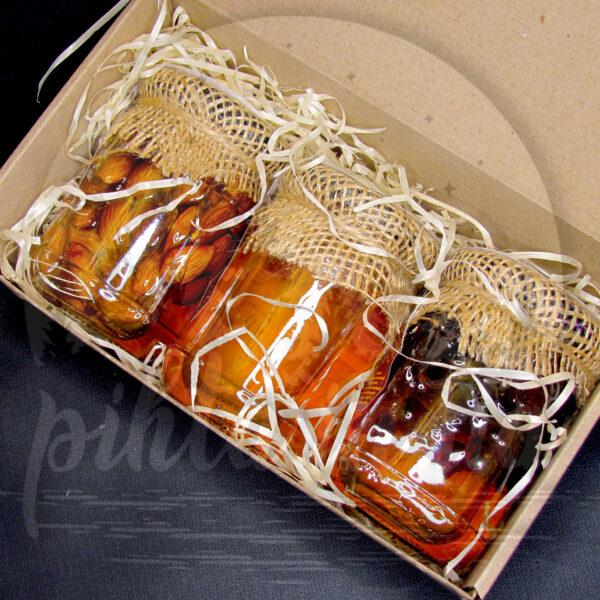мед клюква фундук