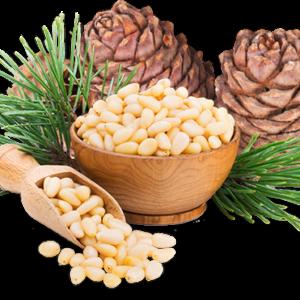 Кедровый орех и клетчатка
